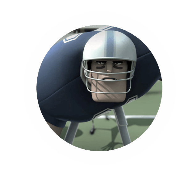 AFL animated player