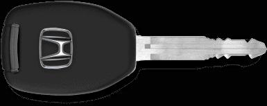 honda car key horizontal