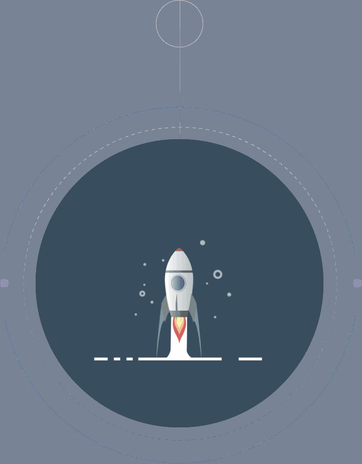 Motion Design Rocket Launch